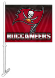 NFL Tampa Bay Buccaneers Car Flag Flag