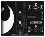 Star Wars Rogue One - Death Star/U-Wing Split Logo Bi-Fold Wallet Wallet