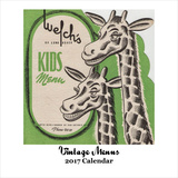 Vintage Menus - 2017 Calendar Calendars