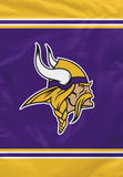 NFL Minnesota Vikings House Banner Flag