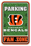 NFL Cincinnati Bengals Field Zone Parking Sign Wall Sign