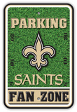 NFL New Orleans Saints Field Zone Parking Sign Wall Sign