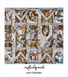 Michelangelo- 2017 Easel Calendar Calendars