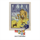 Wizard of Oz - 2017 Calendar Calendars