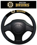 NHL Boston Bruins Poly-Suede Steering Wheel Cover Auto Accessories