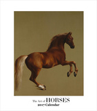The Art of Horses- 2017 Easel Calendar Calendars