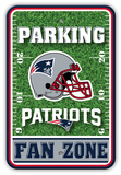 NFL New England Patriots Field Zone Parking Sign Wall Sign