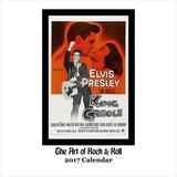 The Art of Rock & Roll - 2017 Calendar Calendars