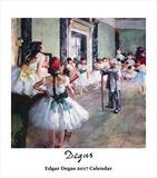 Edgar Degas- 2017 Easel Calendar Calendars