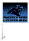 NFL Carolina Panthers Car Flag Flag