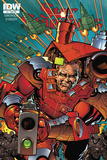Star Slammers Issue No. 4 - Subscription Cover Posters by Walter Simonson