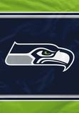 NFL Seattle Seahawks House Banner Flag