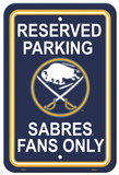 NHL Buffalo Sabres Parking Sign Wall Sign
