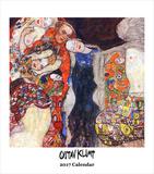 Gustav Klimt- 2017 Easel Calendar Calendars