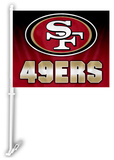 NFL San Francisco 49ers Car Flag Flag