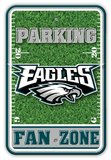 NFL Philadelphia Eagles Field Zone Parking Sign Wall Sign