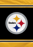 NFL Pittsburgh Steelers House Banner Flag