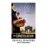 Travel Posters - 2017 Calendar Calendars