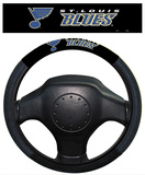 NHL St. Louis Blues Poly-Suede Steering Wheel Cover Auto Accessories