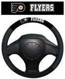 NHL Philadelphia Flyers Poly-Suede Steering Wheel Cover Auto Accessories
