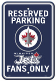 NHL Winnipeg Jets Parking Sign Wall Sign