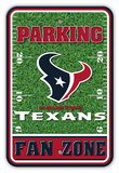 NFL Houston Texans Field Zone Parking Sign Wall Sign