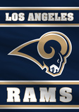 NFL Los Angeles Rams 2-Sided House Banner Flag