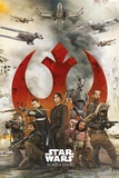 Star Wars: Rogue One- Rebel Strike Force Print