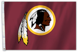 NFL Washington Redskins Flag with Grommets Flag
