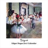 Edgar Degas - 2017 Calendar Calendars