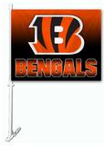 NFL Cincinnati Bengals Car Flag Flag