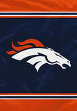 NFL Denver Broncos House Banner Flag
