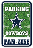 NFL Dallas Cowboys Field Zone Parking Sign Wall Sign