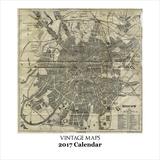 Vintage Maps - 2017 Calendar Calendars