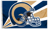 NFL Los Angeles Rams Flag with Grommets Flag