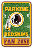 NFL Washington Redskins Field Zone Parking Sign Wall Sign
