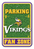 NFL Minnesota Vikings Field Zone Parking Sign Wall Sign