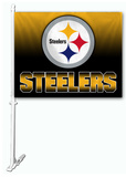 NFL Pittsburgh Steelers Car Flag Flag
