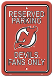 NHL New Jersey Devils Parking Sign Wall Sign