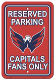 NHL Washington Capitals Parking Sign Wall Sign
