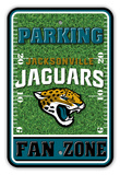 NFL Jacksonville Jaguars Field Zone Parking Sign Wall Sign