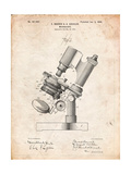 Bausch and Lomb Microscope Patent Posters by Cole Borders
