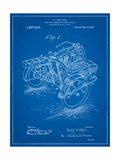 Motorcycle Sidecar 1918 Patent Posters by Cole Borders