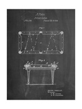 Pool Table Patent Prints by Cole Borders