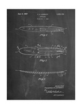 Surfboard 1965 Patent Art by Cole Borders