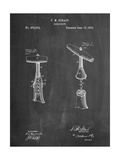 Corkscrew 1883 Patent Art by Cole Borders
