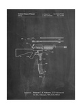 AR 15 Patent Posters by Cole Borders