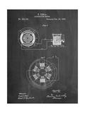 Tesla Alternating Motor Patent Art by Cole Borders