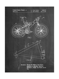 Mountain Bike Patent Art Posters by Cole Borders
