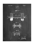 Dumbbell Patent Art by Cole Borders